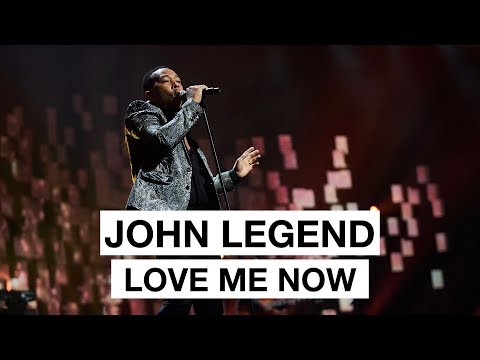 John Legend - Love Me Now (Highlight) | The 2017 Nobel Peace Prize Concert