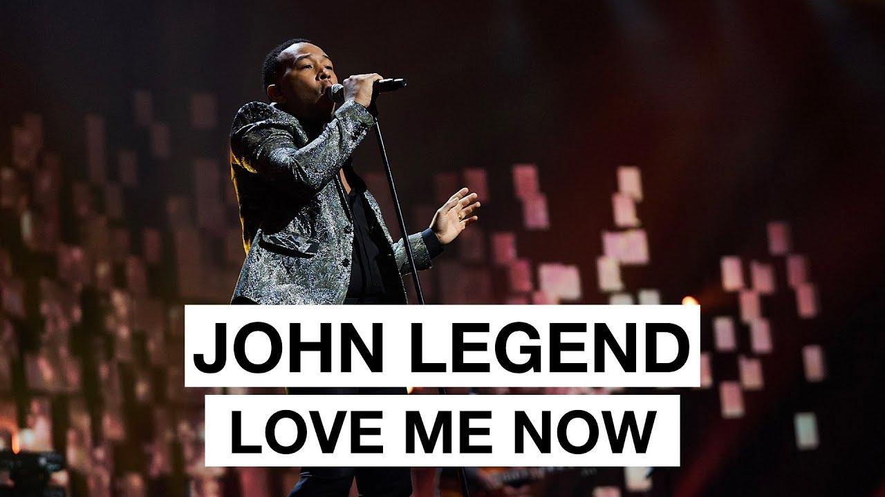 John Legend - Love Me Now (Highlight) | The 2017 Nobel ...