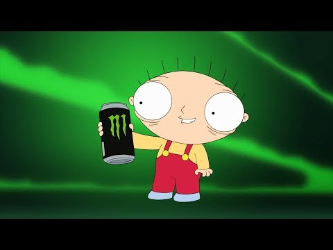 Stewie Drink Monster Energy