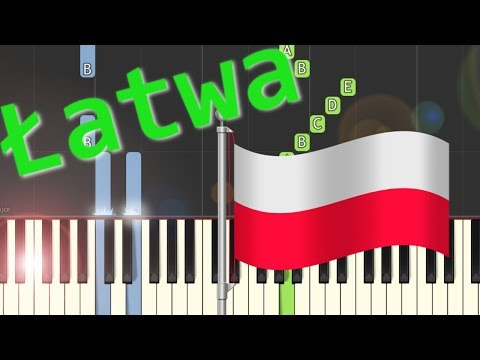 🎹 My partyzanci Hubalczycy - Piano Tutorial (łatwa wersja) 🎹
