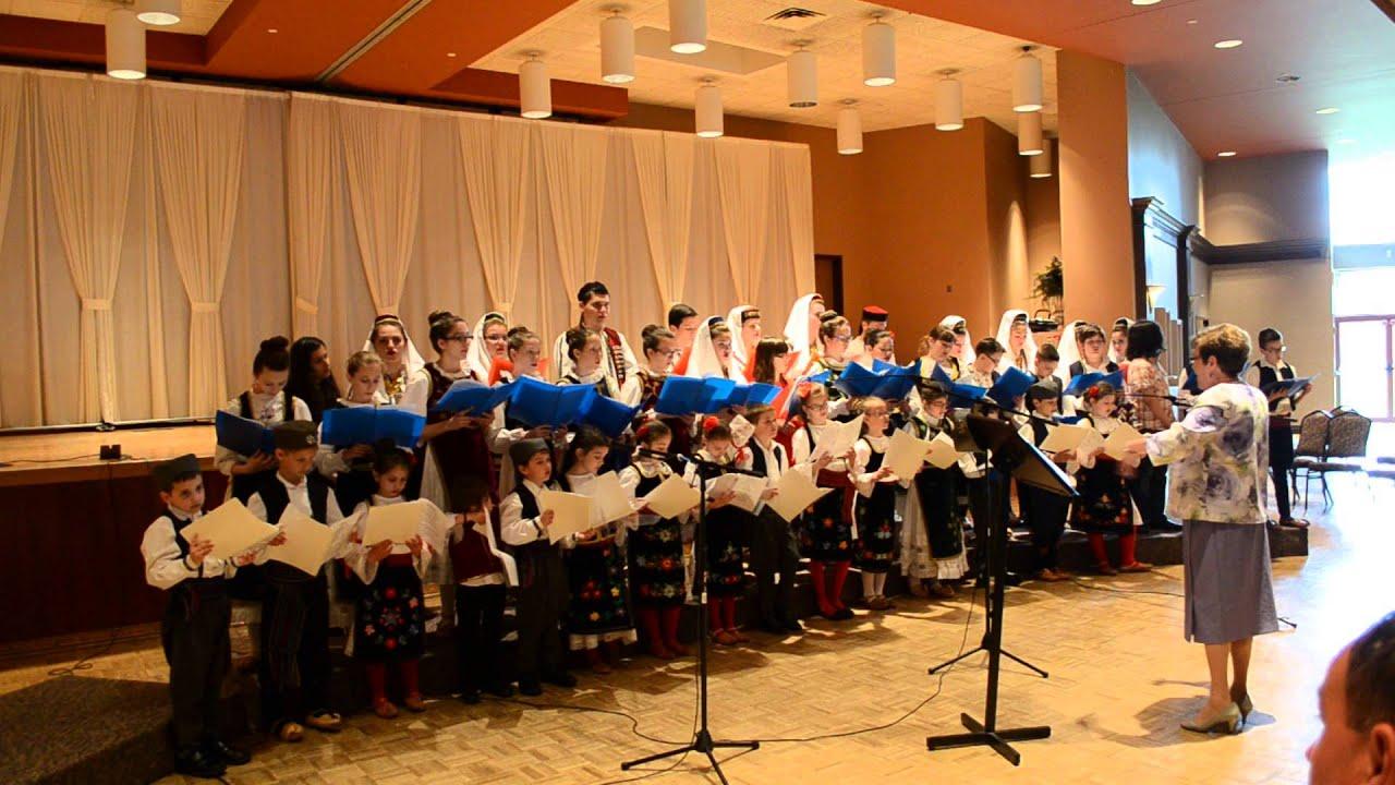 St. George Children's Choir Church Slava Performance 2015 ...