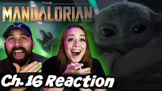 "The Mandalorian Chapter 16 ""The Rescue"" S2 E8 Reaction & Review! *EMOTIONAL*"