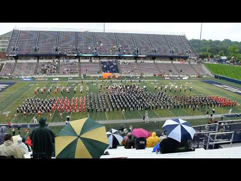 High School Band Day at The University of Akron 2018