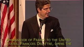 Annual Gala Dinner 2013: François Delattre, Ambassador of France to the United States