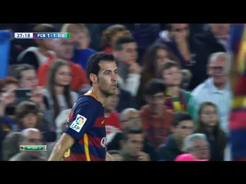 Download Sergio Busquets vs Eibar (La Liga) (Home) 2015/16 ● HD 720p
