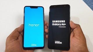Honor Play vs Samsung Galaxy A6+ Speed Test   Ram Management   Fingerprint   Display & Camera Test !