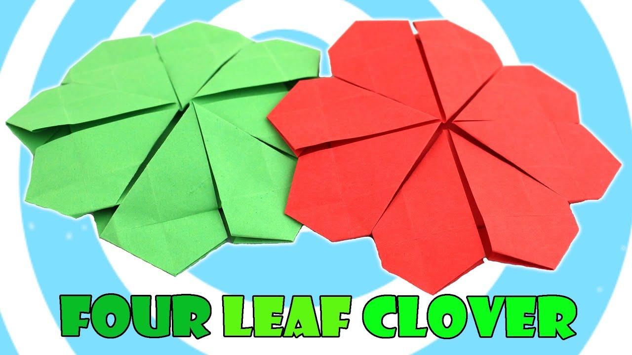 Origami Four Leaf Clover Tutorial (Javier Caboblanco ... - photo#6