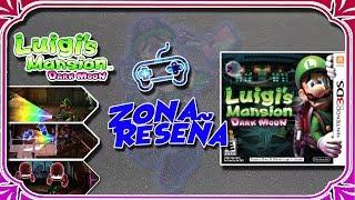 Luigi's Mansion Dark Moon: Reseña (3DS)