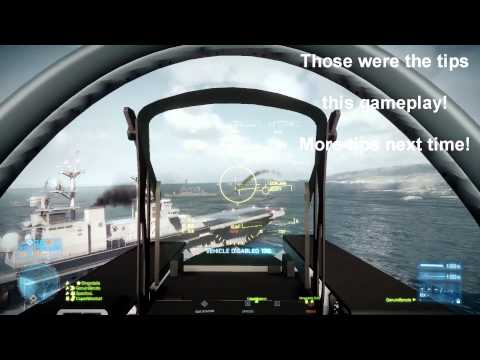 Battlefield 3: Jet Gameplay + Pro Tips | 44-1 | Kharg Island by 1ron-tjunfisk