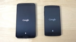 Nexus 6 Android M Developer Preview vs. Nexus 5 Android 5.1.1 Lollipop - Which Is Faster? (4K)