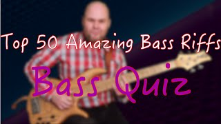 Top 50 Amazing Bass Riffs by Which You Can Recognize the Song // Bass Quiz // Бас викторина