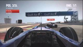 PS3 F1 2010 Gameplay