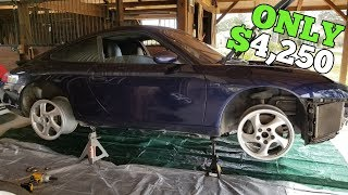 Rebuilding a Salvage Porsche 911 Crazy Cheap using OEM Parts!