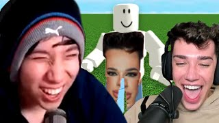 James Charles Is The Funniest Roblox Player Ever