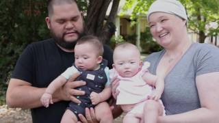 mother of premature twins talks about early breast cancer detection