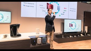 Sony at CES 2018: Internet of Things Booth Presentation