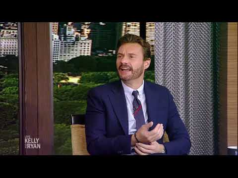 Steve joined Live with Kelly and Ryan!