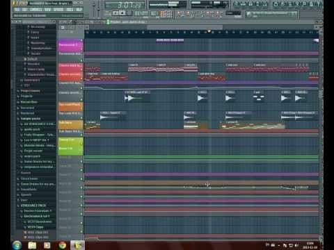 [FREE FLP] Hardwell & Dyro feat. Bright Lights - Never Say Goodbye (FULL REMAKE)
