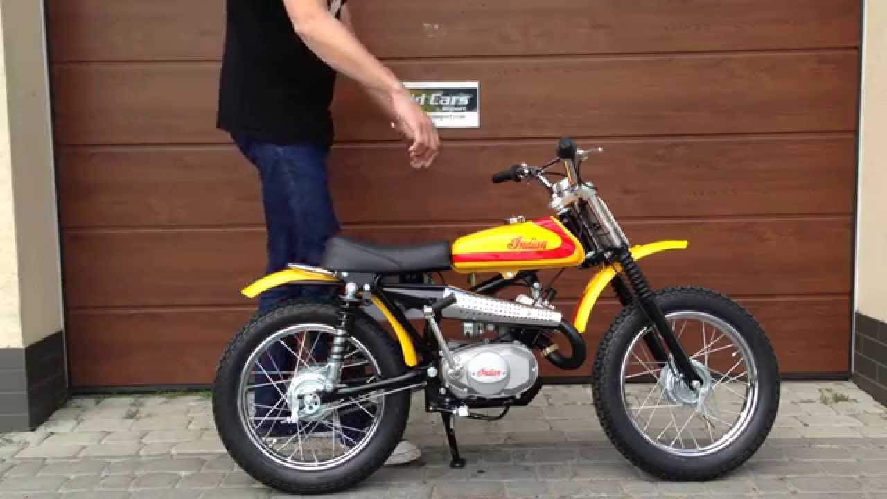 Indian Jc 54 Junior Cross Dirt Bike 1971 Year Youtube
