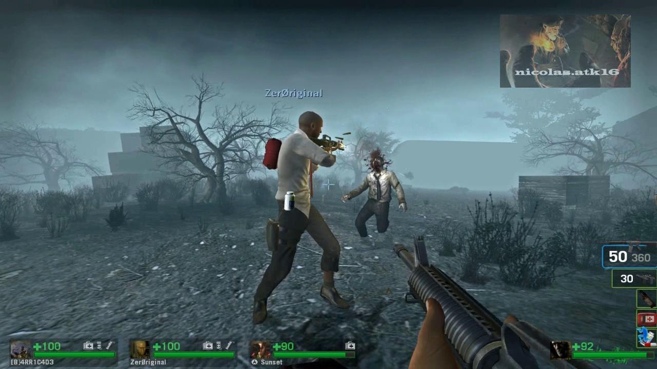 Resultado de imagen para LEFT 4 DEAD 1 GAMEPLAY