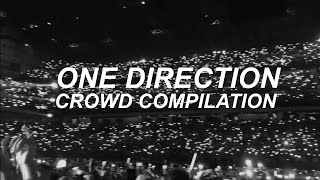 1d crowd singing compilation
