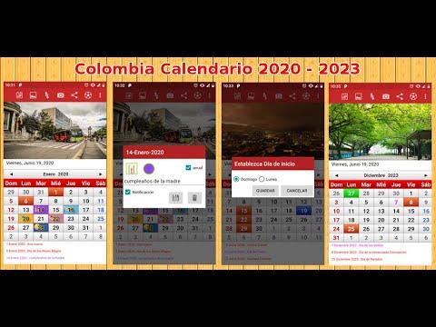 Calendario Colombia 2020 Festivos.Colombia Calendario 2019 Aplicaciones En Google Play