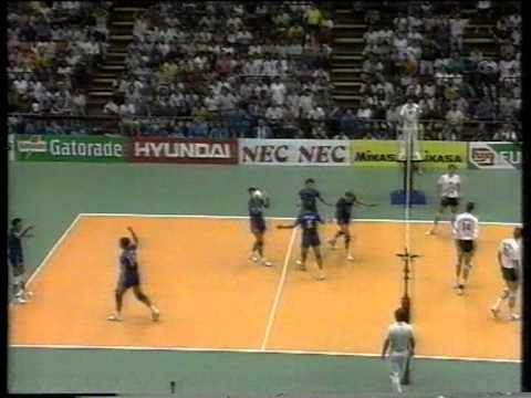 Italy - Nederlands, World League Volleyball Semi Final 1991 (Milan)