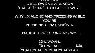 So Cold - Ben Cocks - lyrics