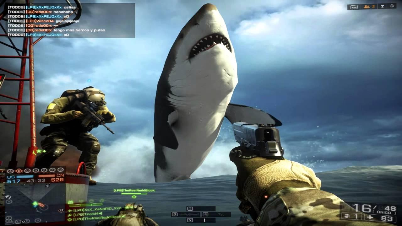 El misterio del Megalodón // Battlefield 4 Easter Egg Naval Strike - YouTube