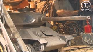 как сделать танк из железа