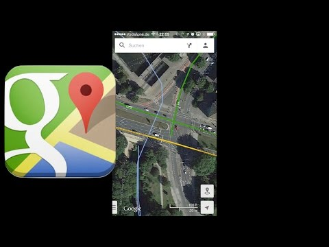 Google Maps App im GPS-Navigations-Test, Review, iPhone (deutsch)