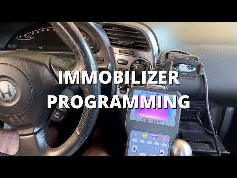 Immobilizer Programming | Honda S2000