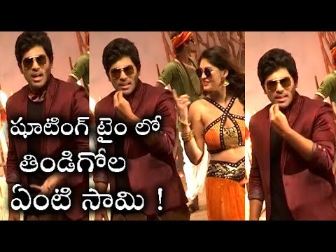 Okka Kshanam Movie Song Making Video |...