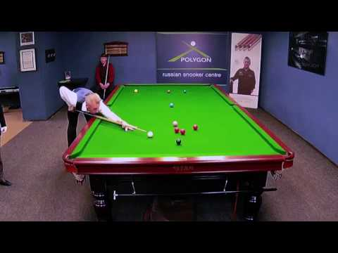 THE CUP OF THE MAYOR OF MOSCOW Snooker 15 05 2017 NIGEL BOND :007: series 100 points