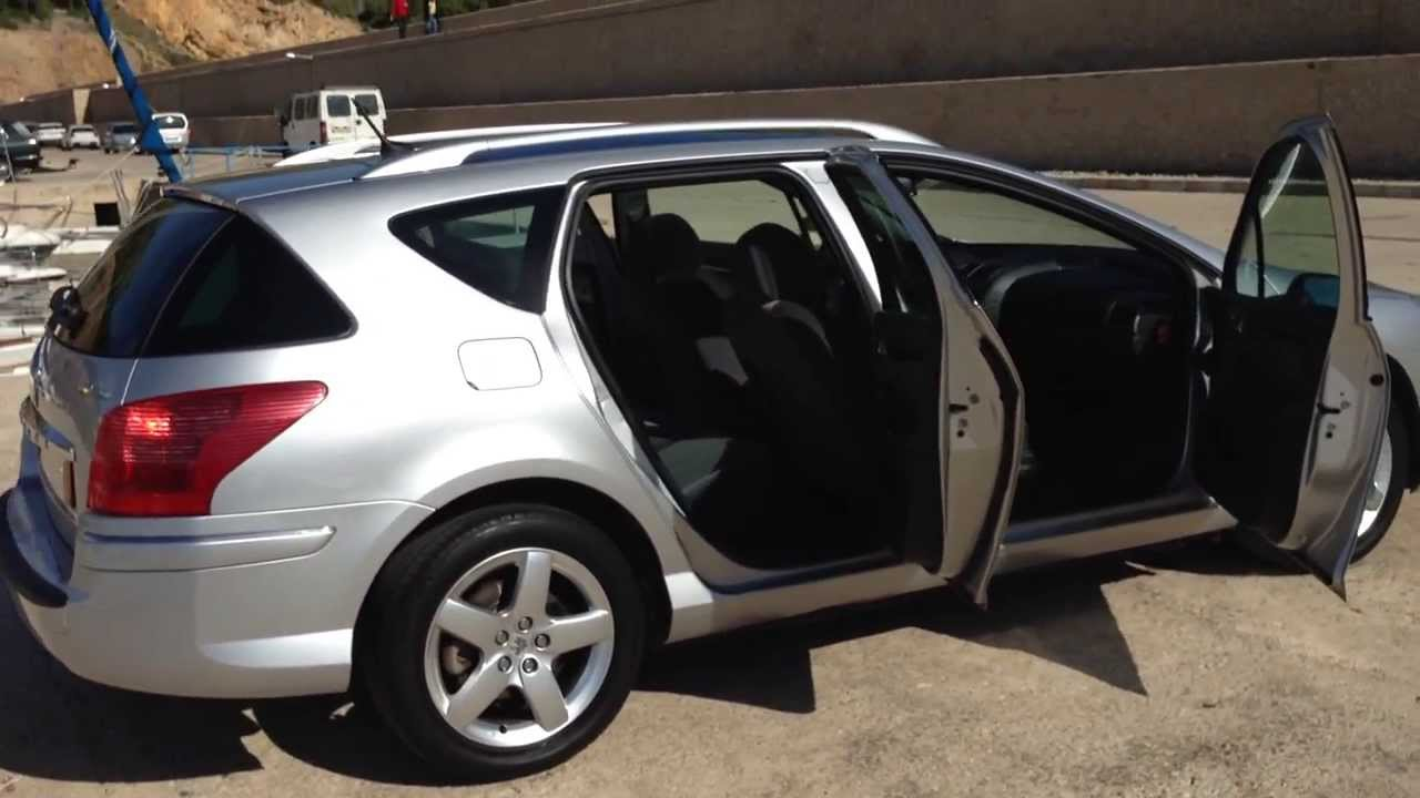 2007 peugeot 407 sw estate 2 2 sport lhd for sale in for Interieur 407 sw