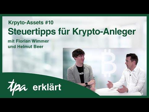 Krpyto-Assets #10 Steuertipps für Krypto-Anleger von Florian Wimmer & Helmut Beer- TPA erklärt Video
