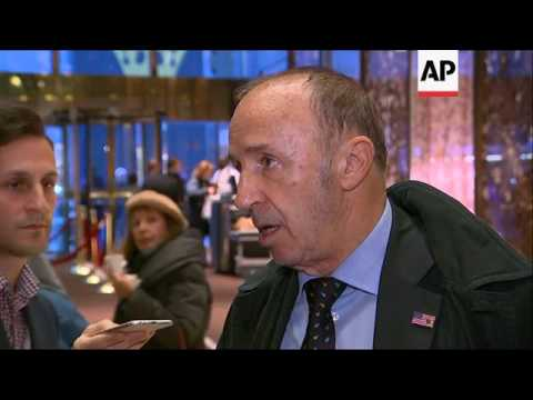 French Politician Le Pen Visits Trump Tower