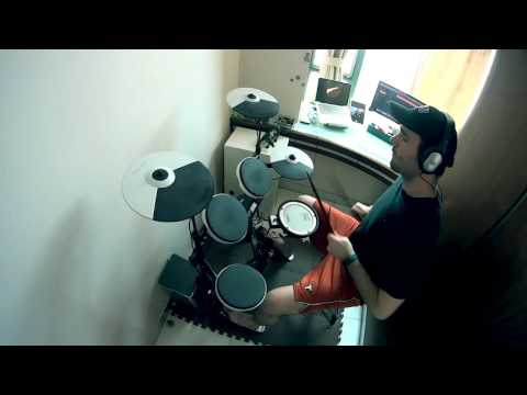 Drowning Pool - Bodies - Drum Cover - Roland TD4-KP