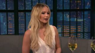 Jennifer Lawrence on Late Night with Seth Meyers NYE Special show [FULL]