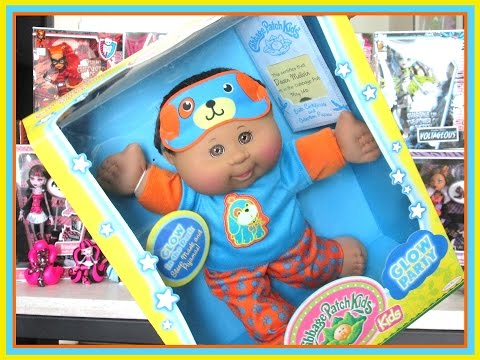 CABBAGE PATCH KIDS - GLOW PARTY KID - OPENING AND REVIEW