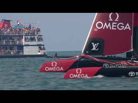 Minute with Mikaela: Bermudians Working For America's Cup