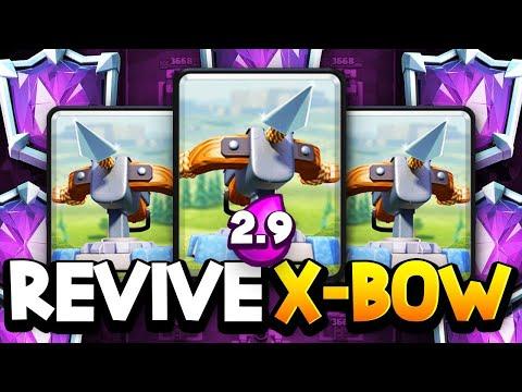 GODLIKE 2.9 X-BOW Gameplay! | 6700+ Trophies!