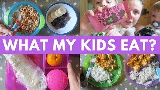 WHAT MY KIDS EAT IN A DAY | PRESCHOOLER & TODDLER (APRIL 2018)