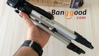 WT3110A 40 Inch Aluminum Tripod Review Banggood.com