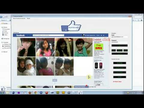 How to like all comments and photos on facebook with Faceboook Autolike Application
