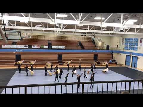 Halls Middle School Winterguard - Gibbs Indoor Showcase 3/24/2018