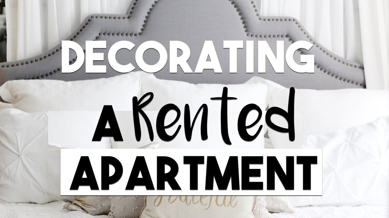 Interior Design Tips For Decorating A Rented Apartment Youtube