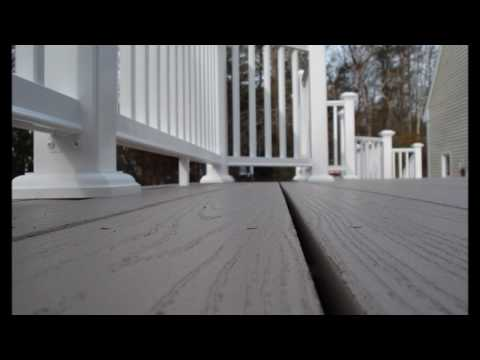 New Azek Deck & Railings in Norwell, Ma - Almar Building & Remodeling