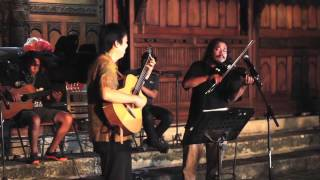 """Bengawan Solo"" (Gesang) - by Jubing  (guitar,) Ages (violin) & Batavia Mood Ensemble"
