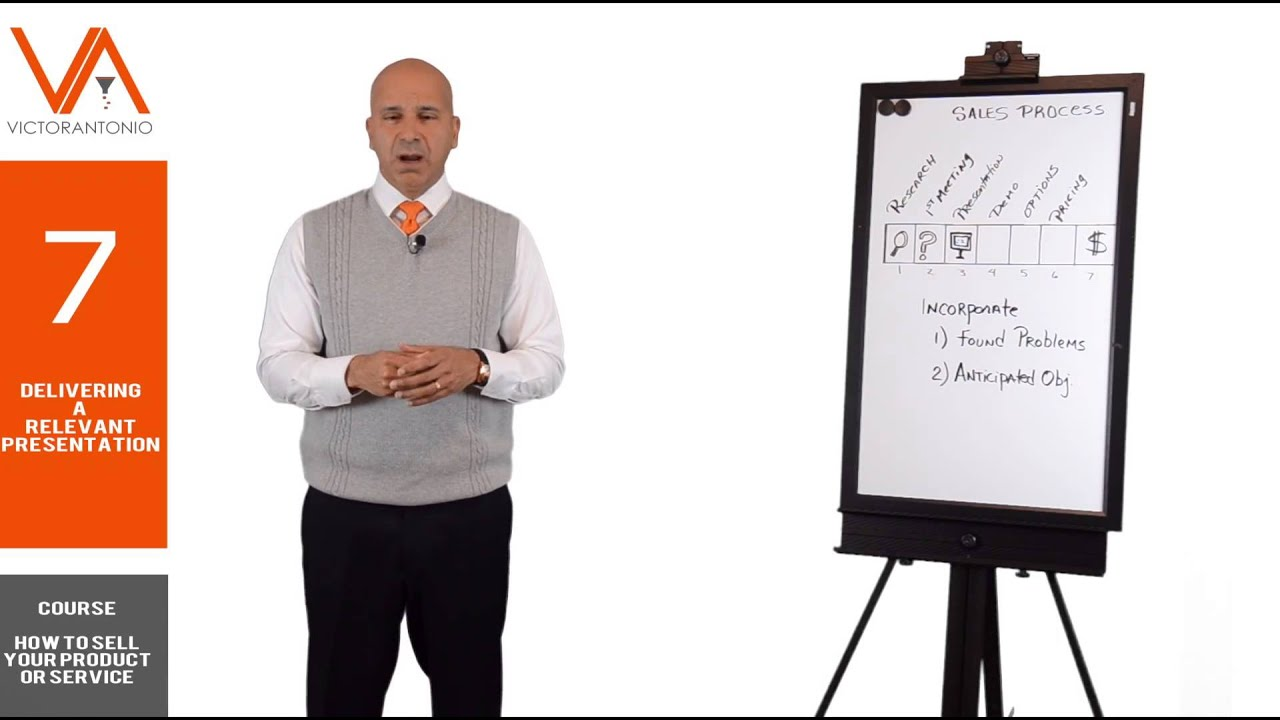 How to Sell Your Product or Service - Delivering a Sales ...